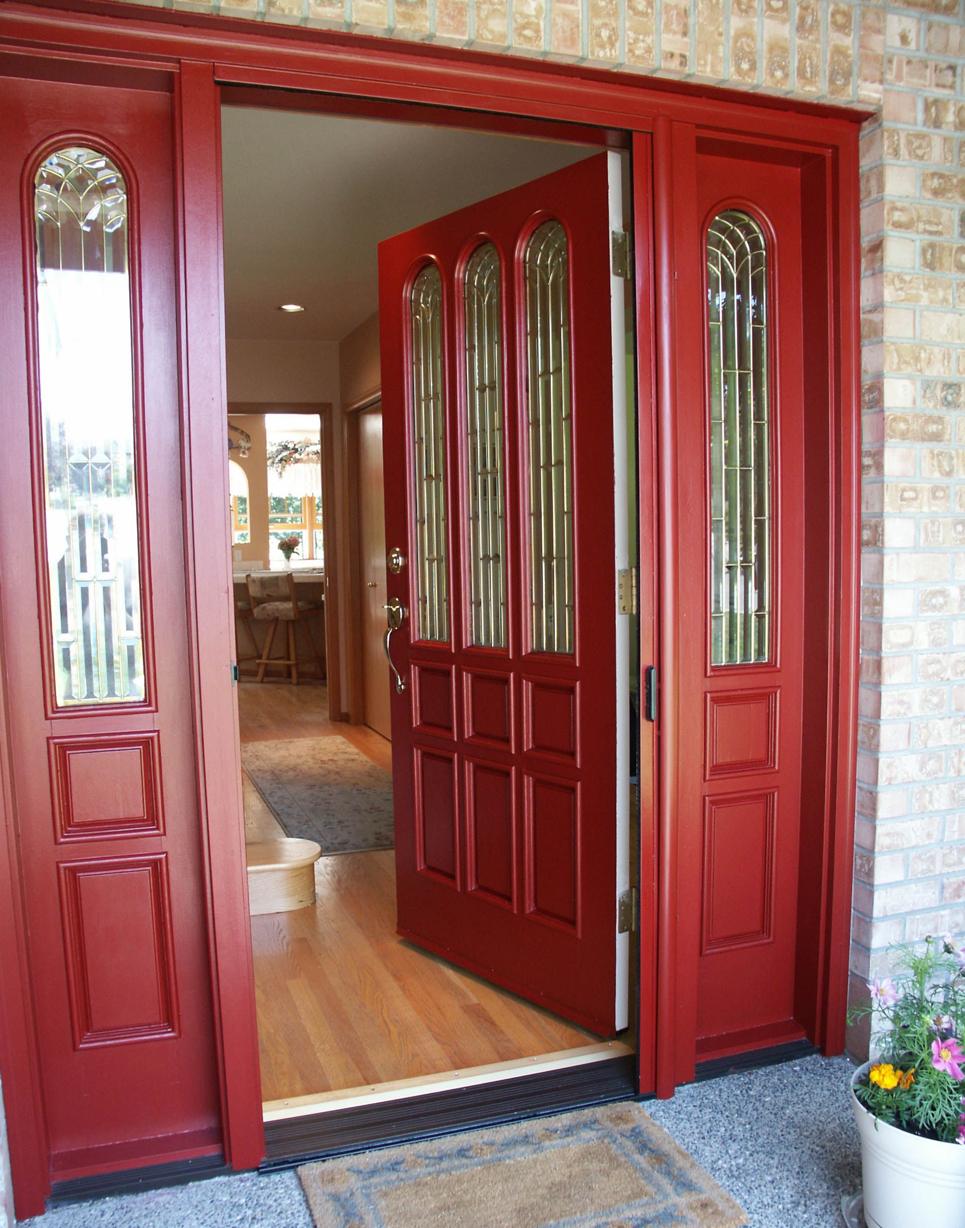 Open Front Door | Danco Screen Service|Window and Door Screens ...