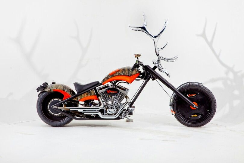 Custom hunter motorcycle.