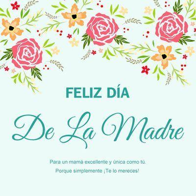 Imágenes Con Frases Para El Día De La Madre Y La Familia Feliz Día De La Madre Tarjetas Del Día De Las Madres Dia De Las Madres