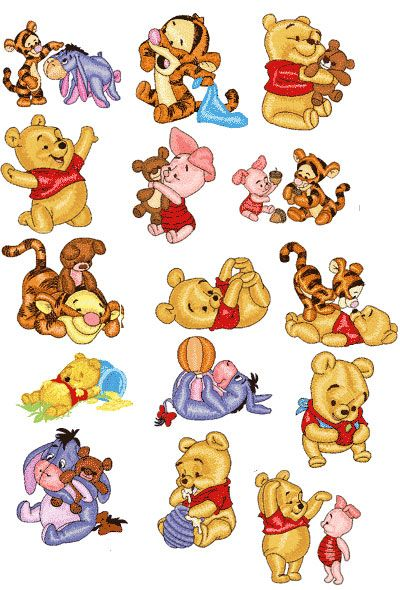 Winnie The Pooh Embroidery Designs Google Search Embroidery