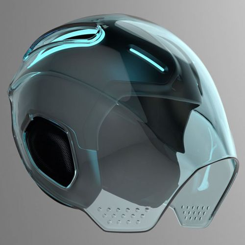 tron combat helmet dlt pinterest casque design design armure et casques. Black Bedroom Furniture Sets. Home Design Ideas