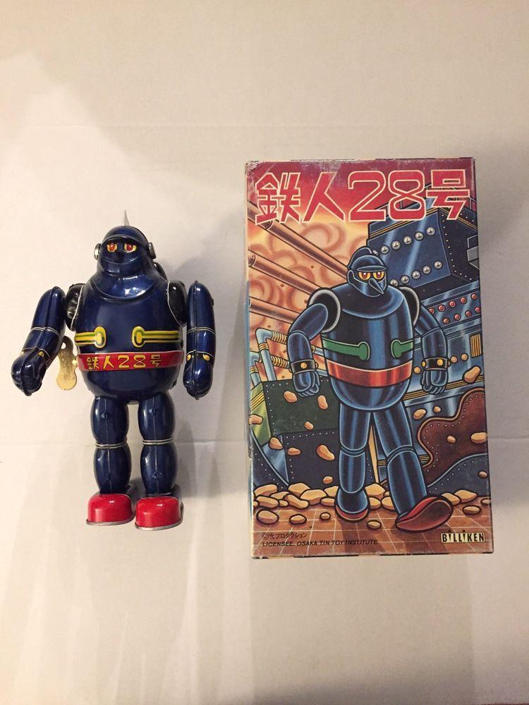 Tetsujin 28 Bilken Osaka Tin Toy Institute Robot Tin Toy Japan Gigantor Tin Toys Geek Gear Osaka