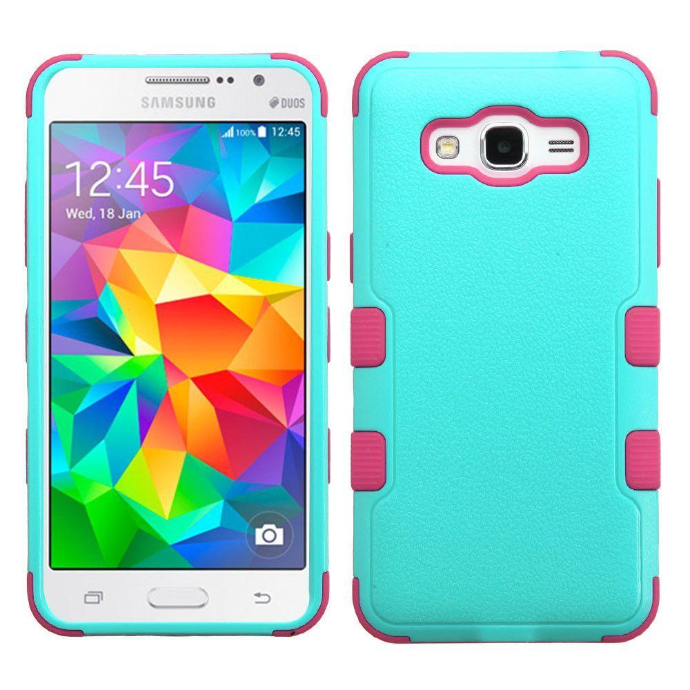 Mybat Tuff Hybrid Samsung Galaxy Grand Prime Case Teal Green Pink Fundas Pink Fundas Para Iphone Fundas Para Telefono