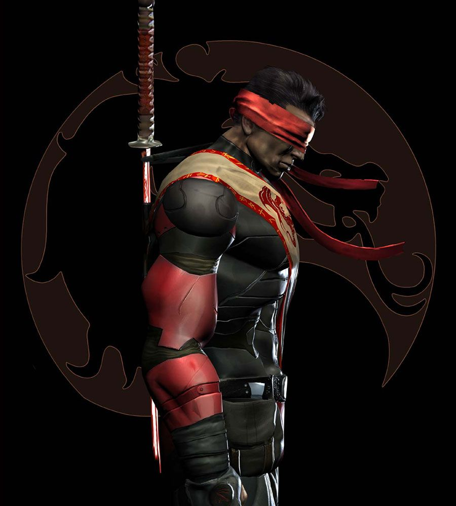Kenshi from Mortal Kombat  One of the coolest blind guys EVER