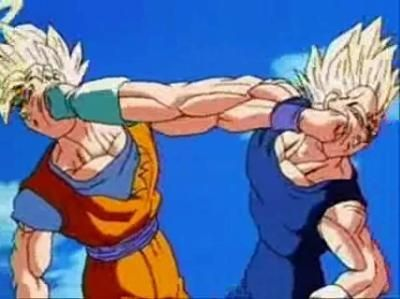 Pin By Neonzfighter27 On Z Fighter Archive Dragon Ball Goku Vs Dragon Ball Z