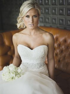 Hairstyle For Trumpet Wedding Dress Sweetheart Google Search