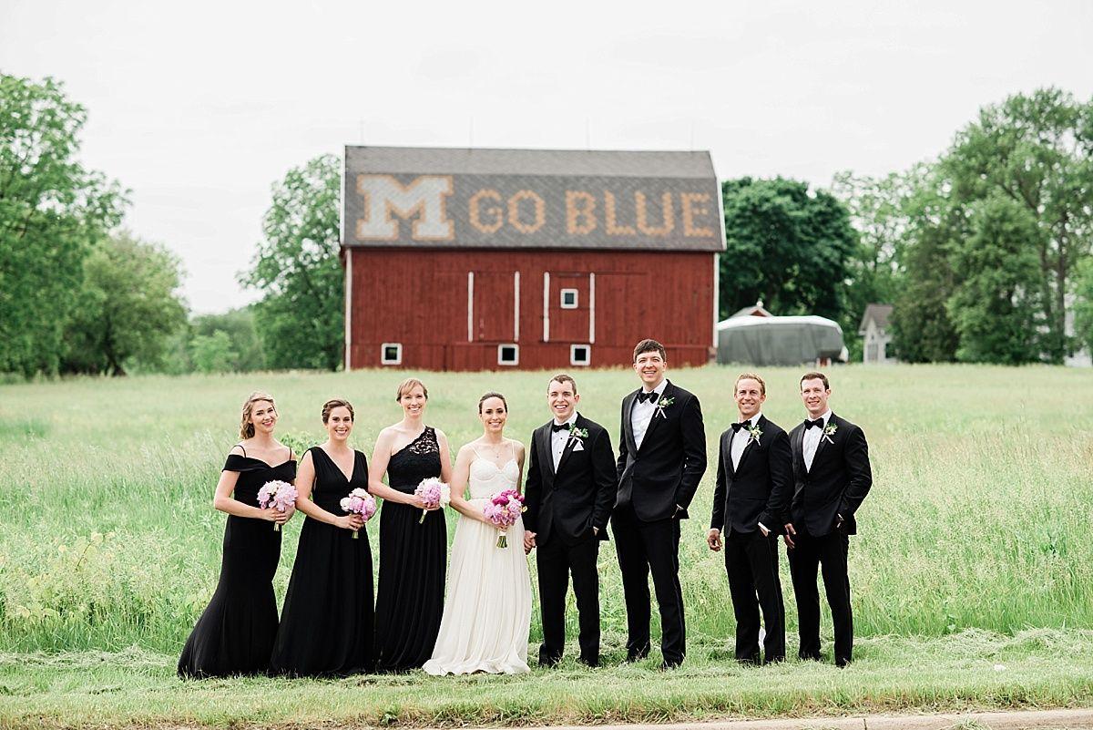 Ann arbor city club wedding photos michigan wedding