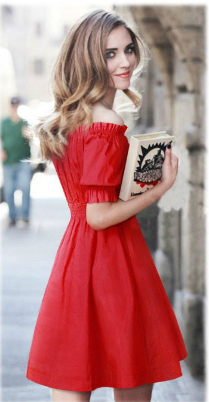 87005c0eeda5 The Dream On off shoulder dress is a classic beauty with ruffled cuff arms