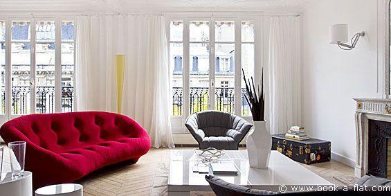 Appartement meublé Paris - Champs Elysées - 2 chambres avenue Kléber