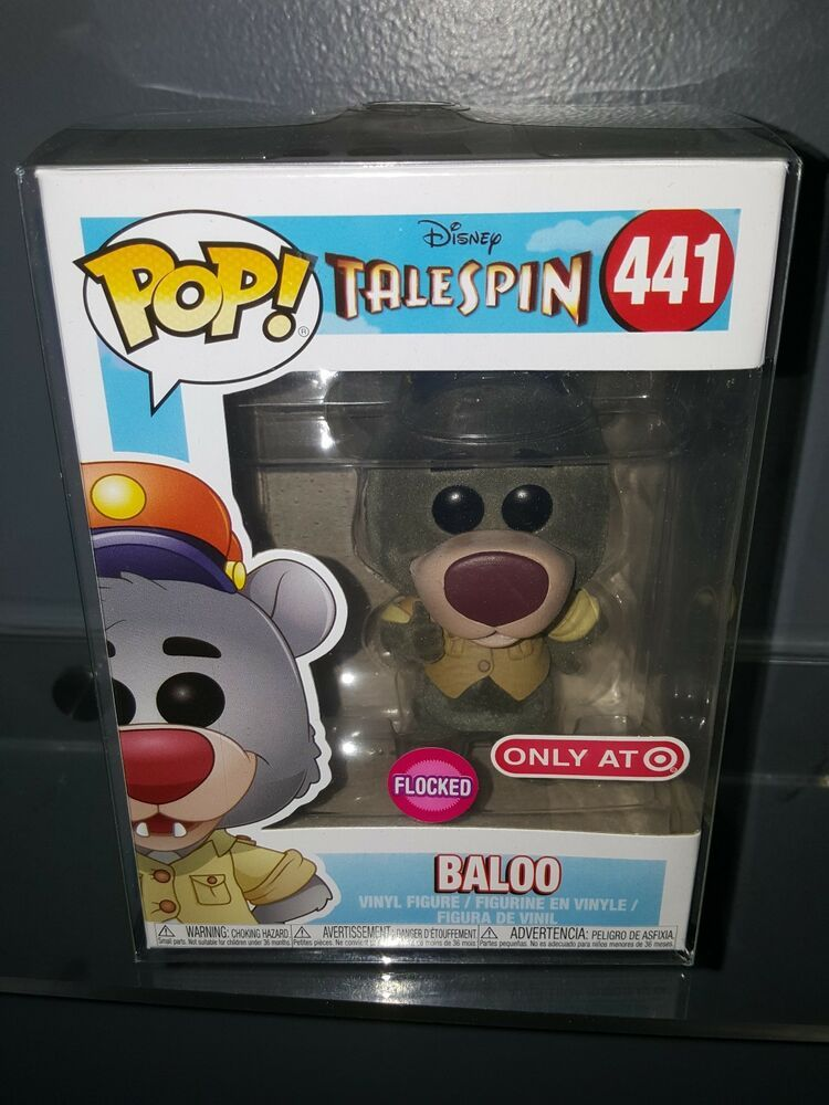 FUNKO POP DISNEY TALESPIN BALOO VINYL FIGUR IN BOX #441