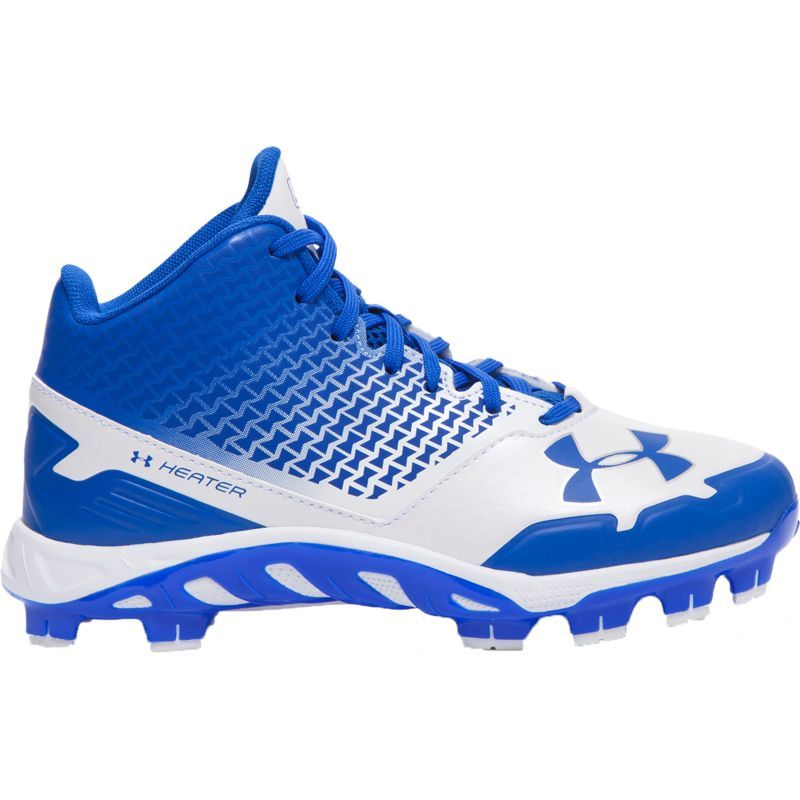 Under Armour Kid S Spine Heater Mid Tpu Baseball Cleats