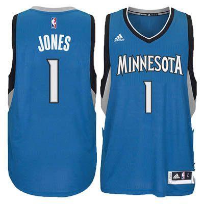 save off 5fc10 20d50 Men's Tyus Jones Minnesota Timberwolves adidas Swingman Blue ...