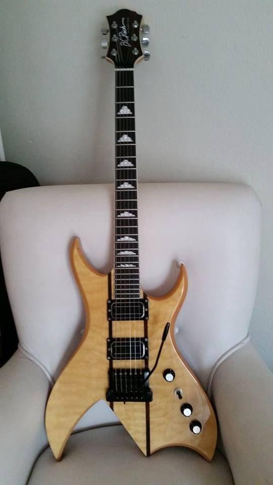 BC Rich Bich with a Kahler tremolo | Guitars with Kahler Tremolo