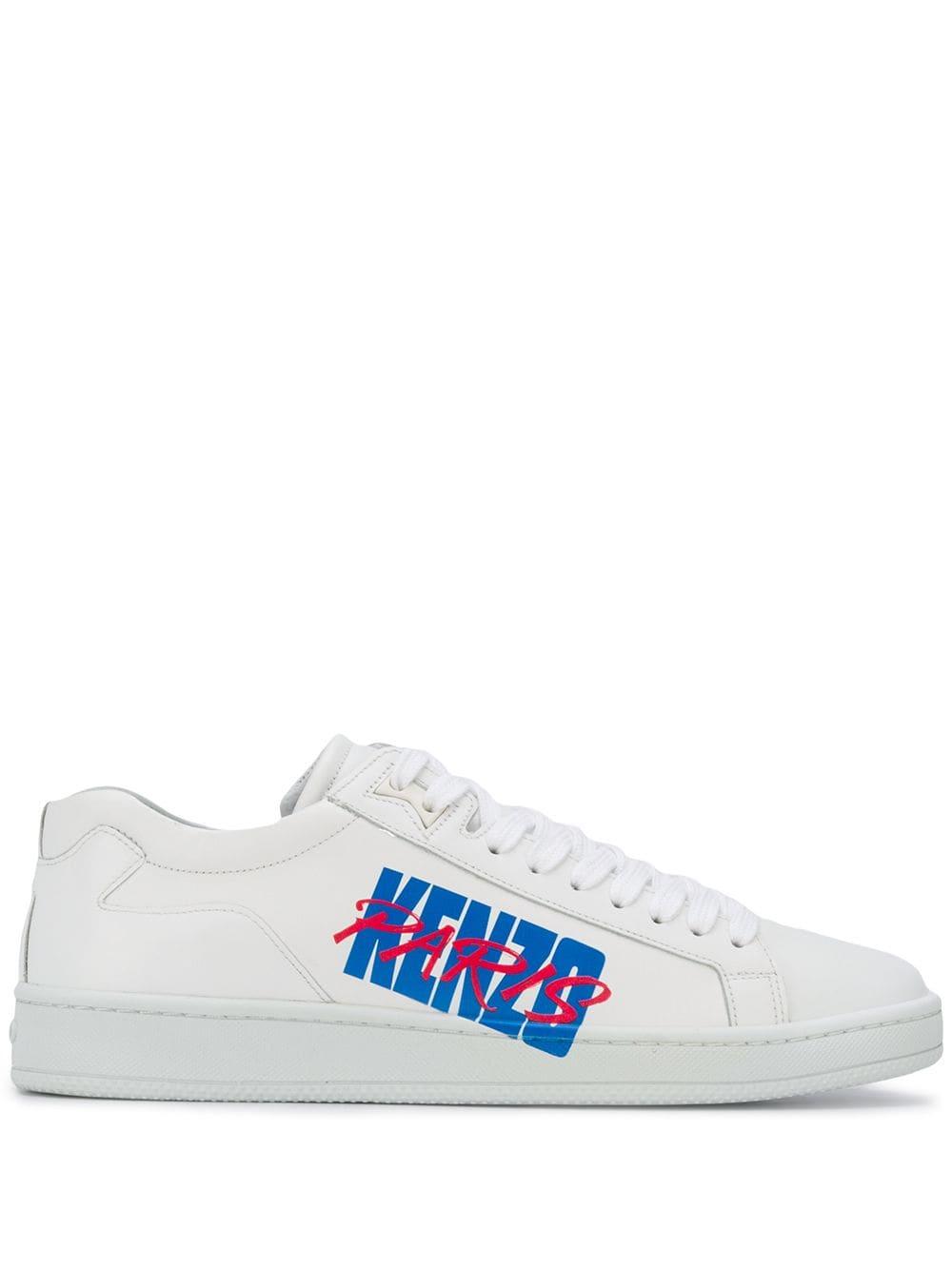 Kenzo Paris Sneakers In White | ModeSens