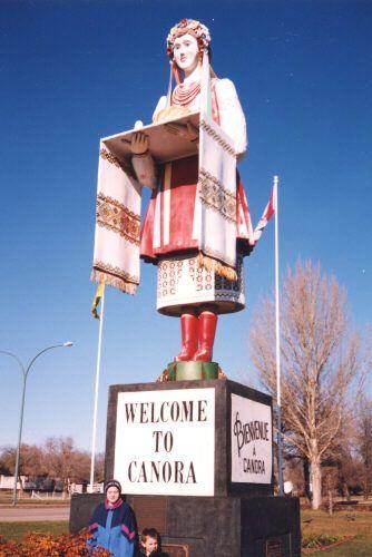 Ukrainian Girl Canora Saskatchewan Canadian Road Trip