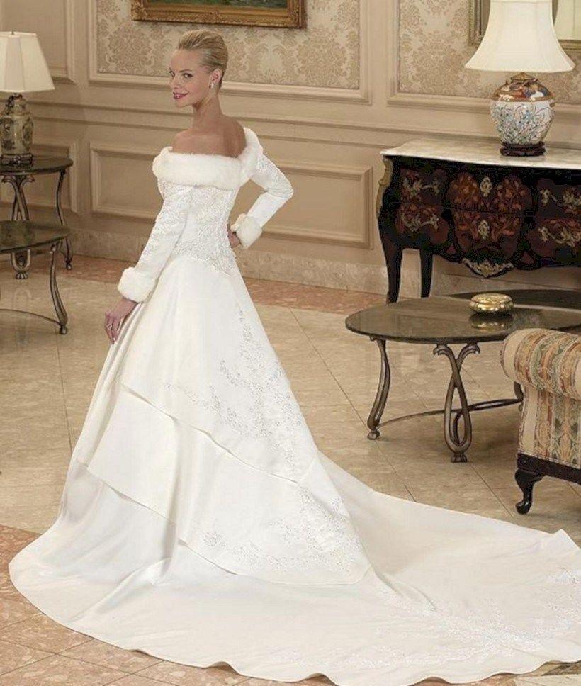 Winter Wonderland Wedding Gowns: 47 Stylish Winter Wedding Dress Ideas To Makes You Stay