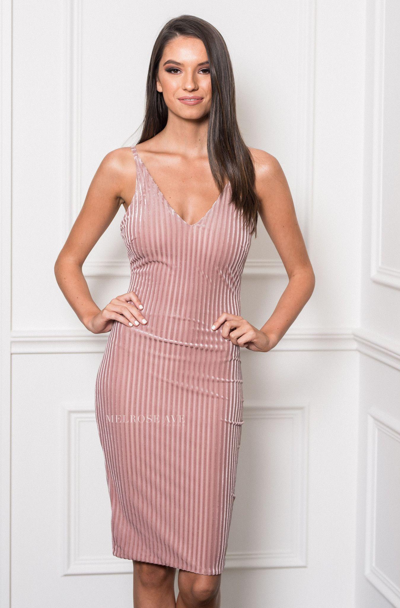 La Femme Velvet Dress – Melrose Ave Fashion | Pins I Liked | Pinterest
