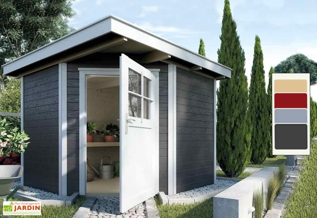 Abri Jardin Bois d\'Angle Quinta 21mm (239x235) | Abris de jardin ...