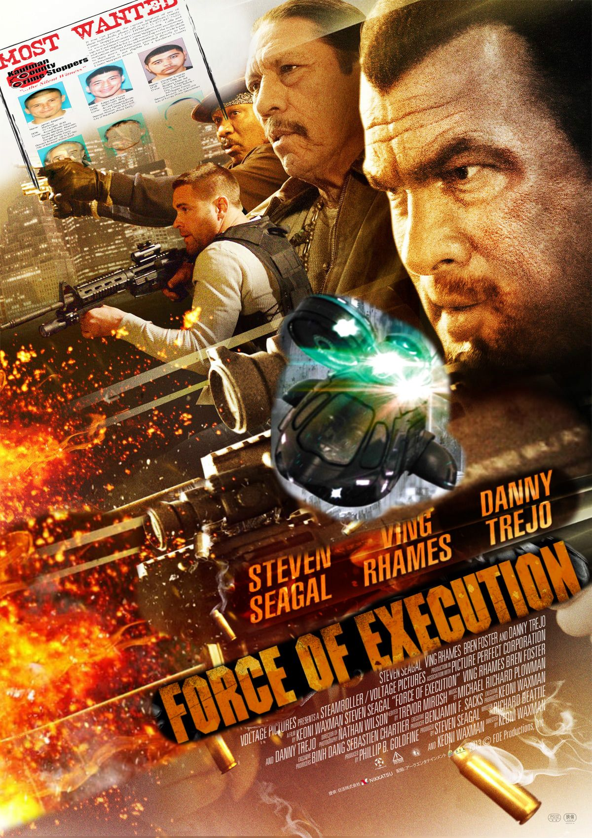 force of execution movie poster