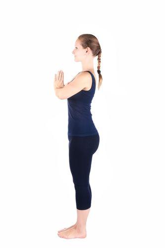 Tadasana Yoga Mountain Pose How To Do And Benefits Styles At Life Yoga Poses Surya Namaskar Poses