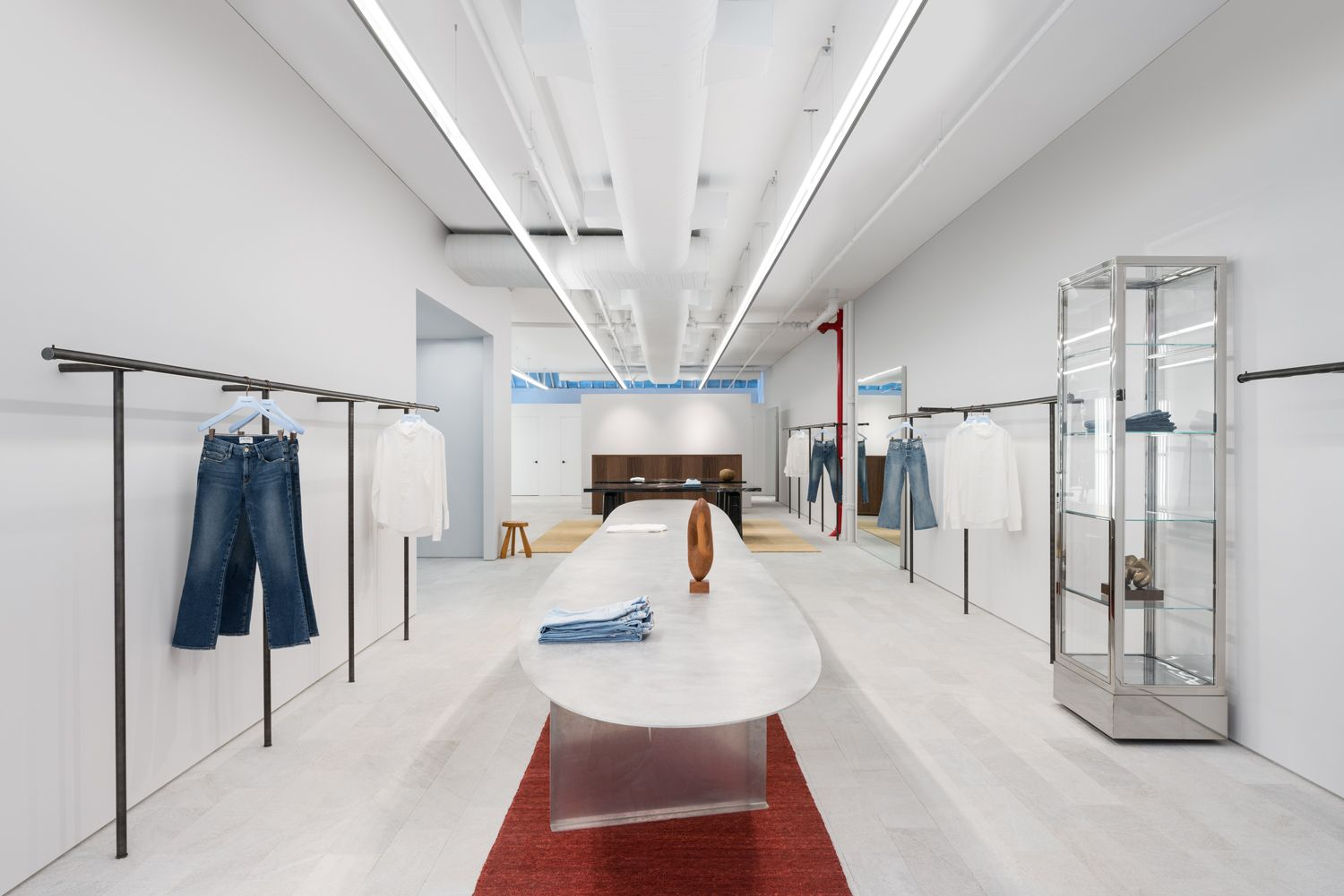 FRAME Store in NYC by Christian Hallerod | clothes shop | Pinterest ...