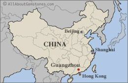 Image result for guangzhou china on a map