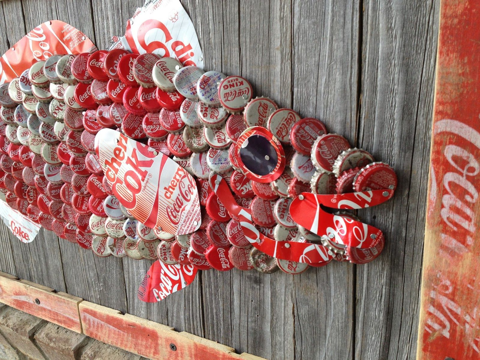 More Art From The Hot Florida Sun Mexican Sea Project Beer Cap Art Bottle Cap Art Bottle Cap Crafts