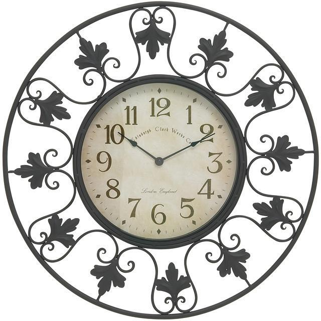 Bayden Hill Metal Outdoor Wall Clock 23 D In 2019 Products