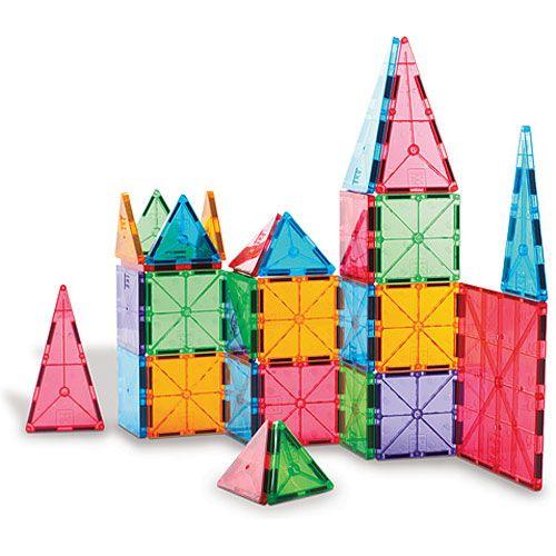 Magna Tiles Clear Colors 100 Pc Set Smart Kids Toys Best Kids Toys Award Winning Toys Toys