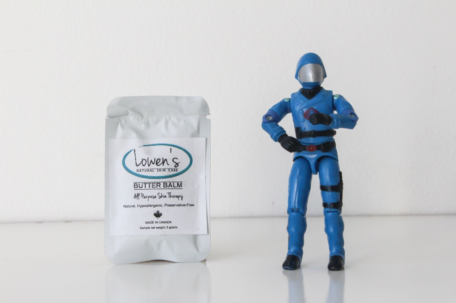No Need To Hide That Rosacea Under A Mask Cobra Commander Try A Little Butter Balm On That Natural Skin Care Skin Care Companies Skin Care