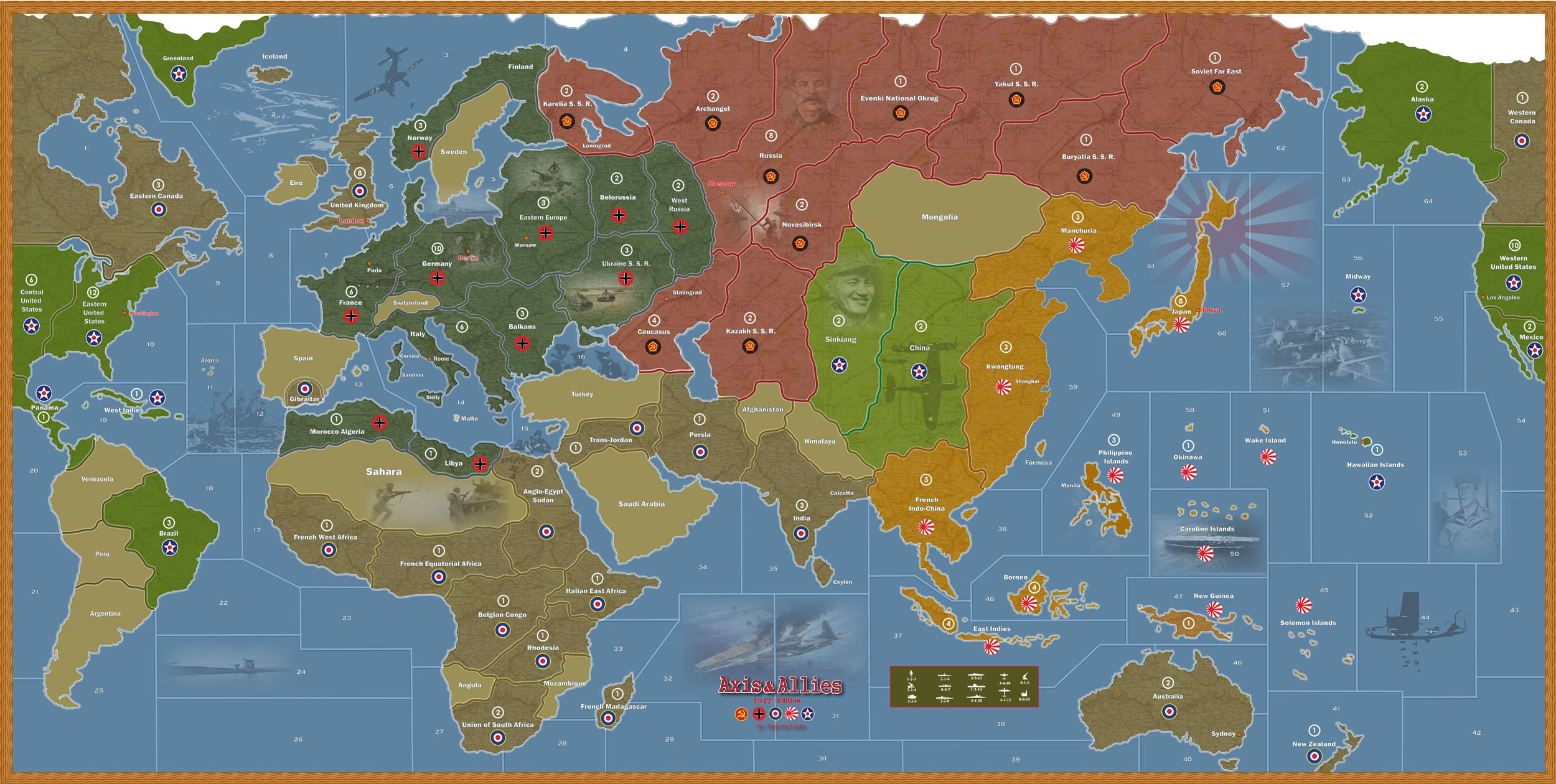 Large axis and allies maps lets play axis and allies explore game boards board games and more gumiabroncs Images