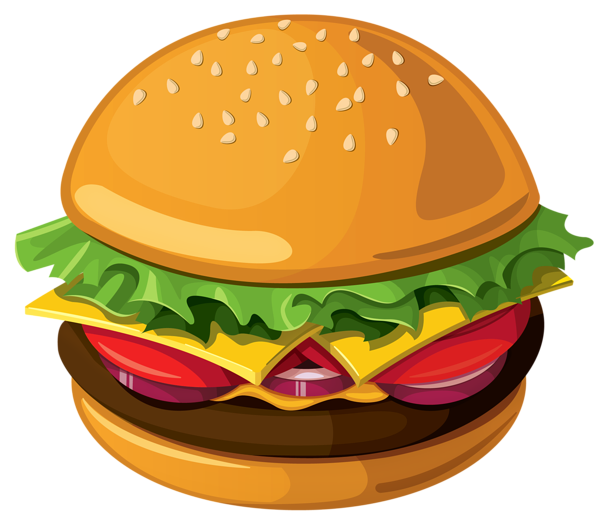 Hamburger PNG Vector Picture Ideias