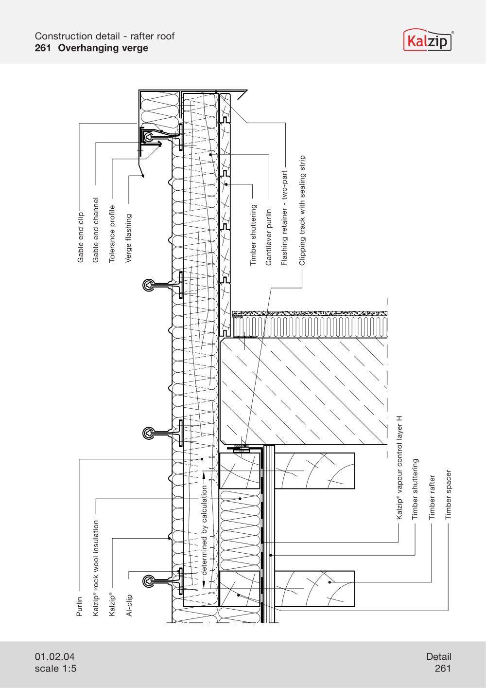 Kalzip Construction Details Construction Details