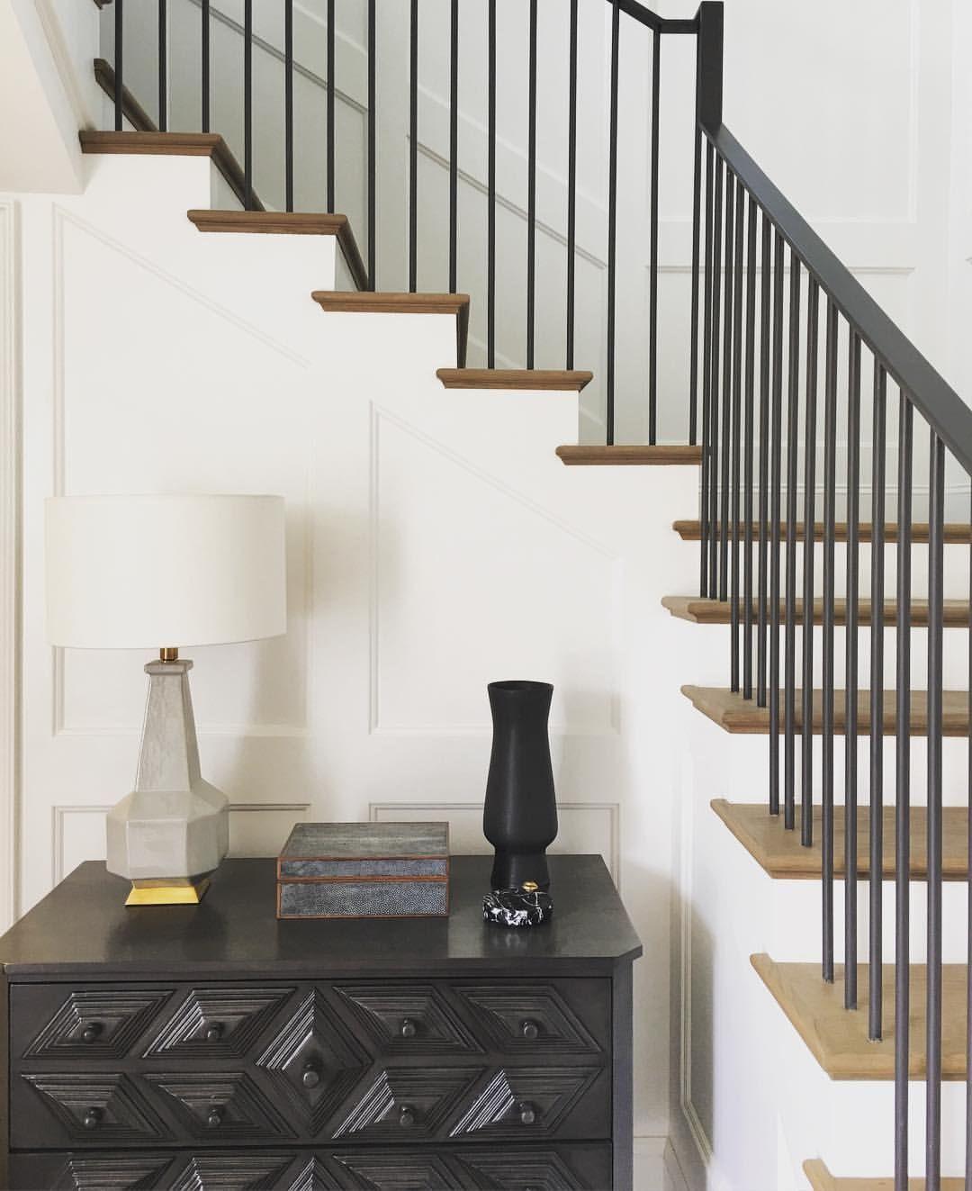 Disc Interiors More Handrail In 2019 Stair Railing   Modern Metal Stair Spindles