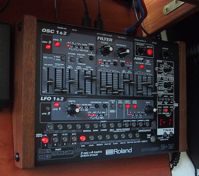 SH-32 Final B | SYNTHESIZER | Electronic music instruments