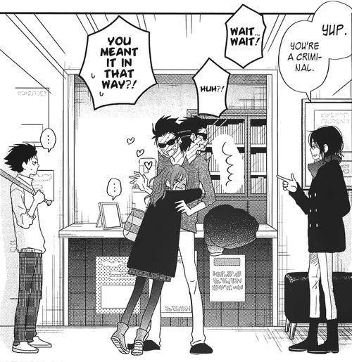 haha Poor Mit-chan