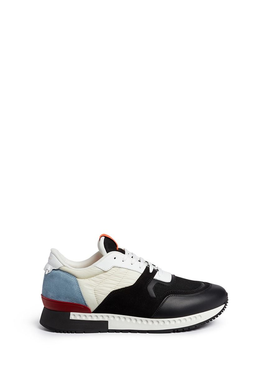 4b07c90ddcbd5 GIVENCHY 'Retro Runners' Colourblock Combo Sneakers. #givenchy #shoes # sneakers