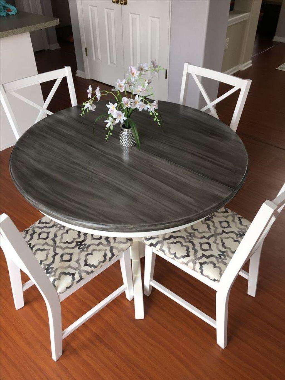 Impressive Dining Table Design Ideas You Have To Try16 Kitchen Table Makeover Dining Table Makeover Furniture Makeover