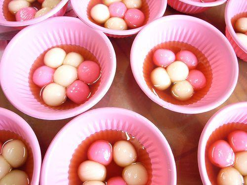 sticky rice balls (tangyuan)  foodsticky rice balls (tangyuan)  food