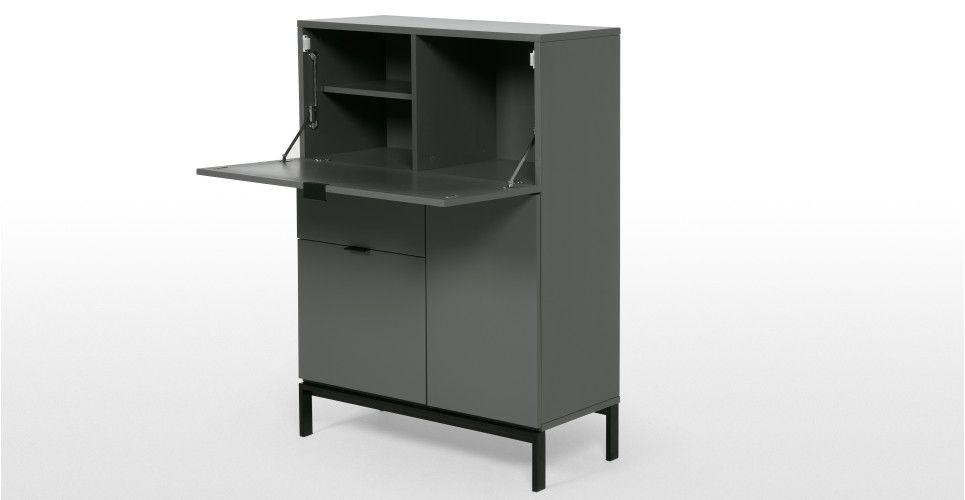 Marcell desk bureau white furnished pinterest bureaus and desks