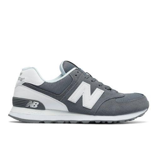574 Reflective Men's 574 Shoes - Grey/White (ML574CNC)