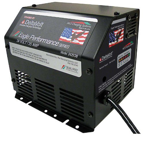 24v 25ah Dual Pro Eagle Genie Lift Battery Charger Onboard Click Image To Review More Details It Is An Affiliate Li Battery Charger Battery Tractor Battery