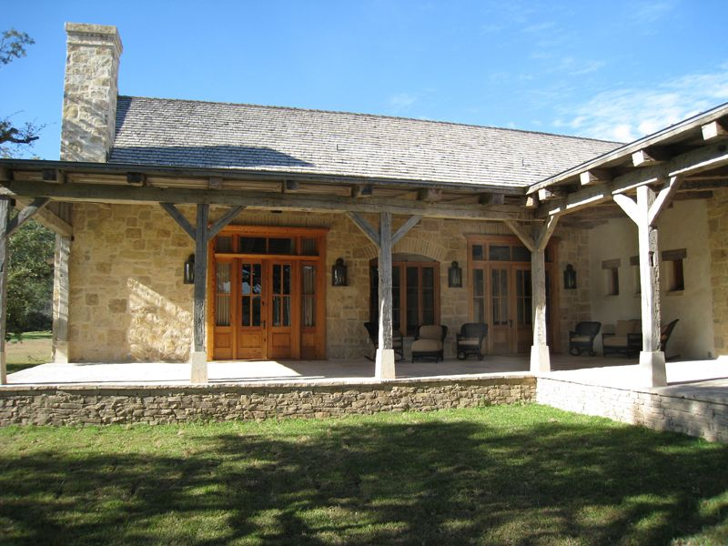 Reese Ranch Headquarters South Texas Porch House Plans Ranch House Designs Hill Country Homes