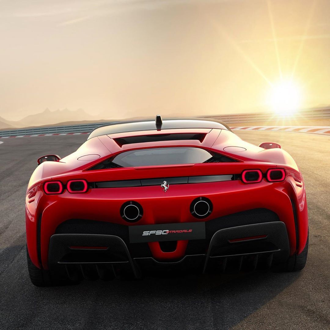 "The Ferrari F8 Tributo Is The Most Powerful V8 Car Its: CarLifestyle On Instagram: ""All-New 986hp Ferrari SF90"