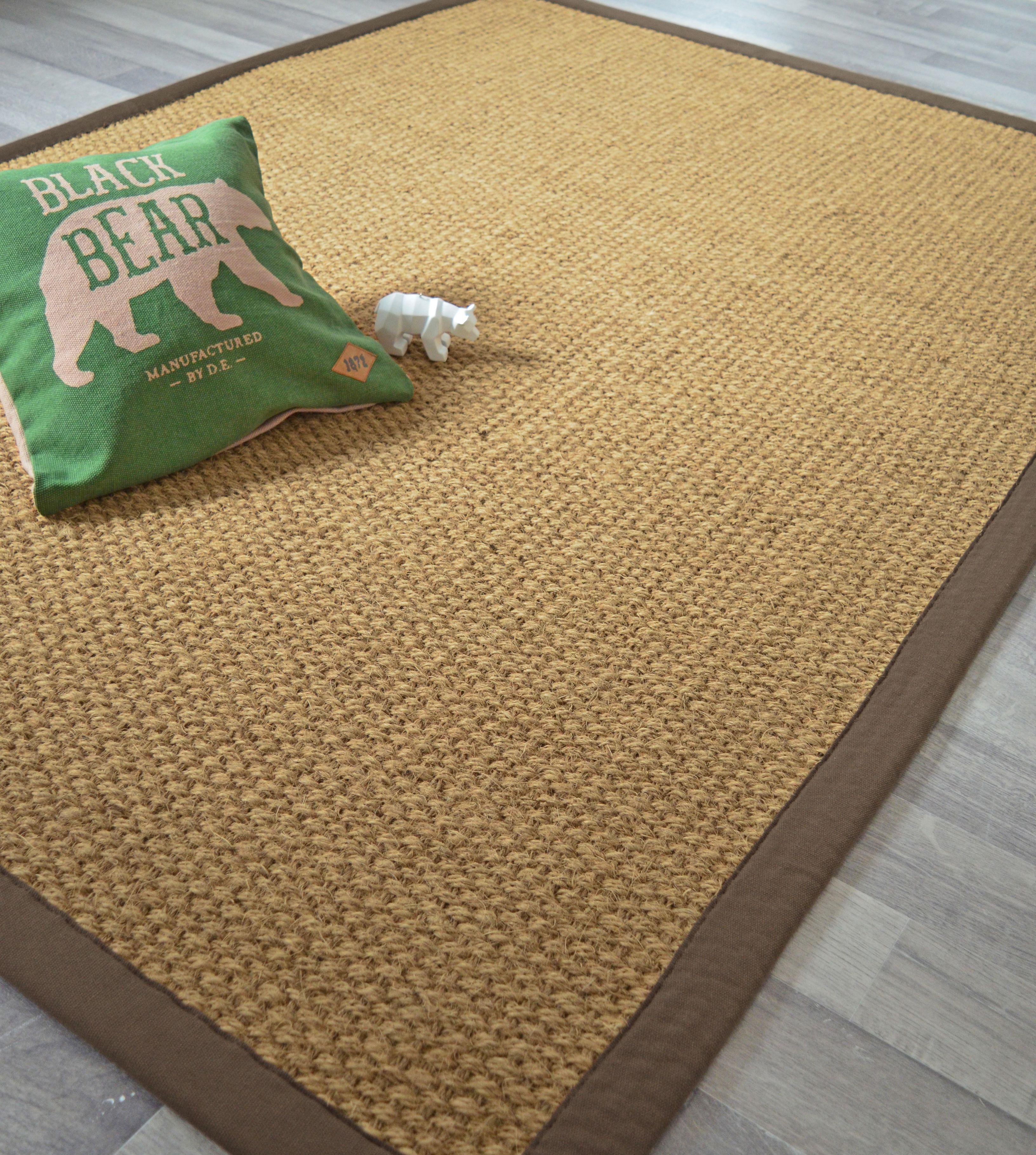 ce tapis coco delhi est concu a partir