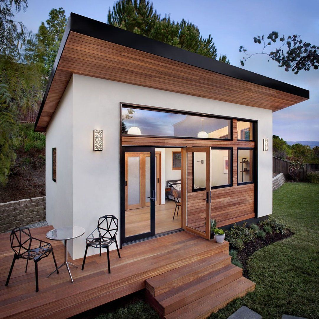 Annu Homes Studio House Villa Pre Fabricated Home The Emg Outlet Backyard Guest Houses Guest House Small Small Luxury Homes Mini backyard guest house