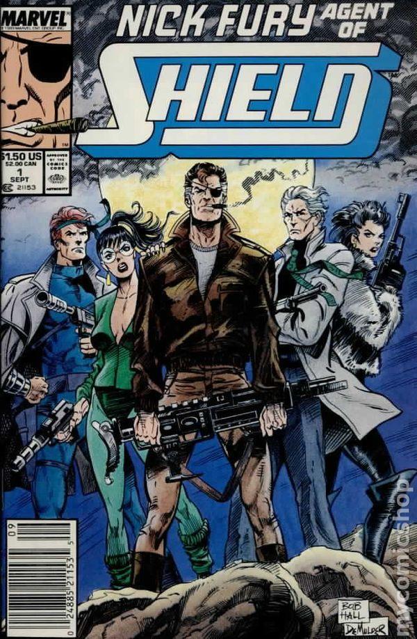 Nick Fury Vs Shield 1988 series # 2 near mint comic book
