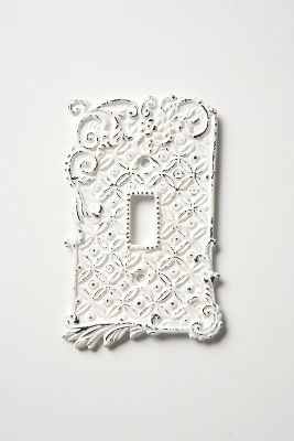 Tin Roof Switchplates From Anthropologie Future Home Making