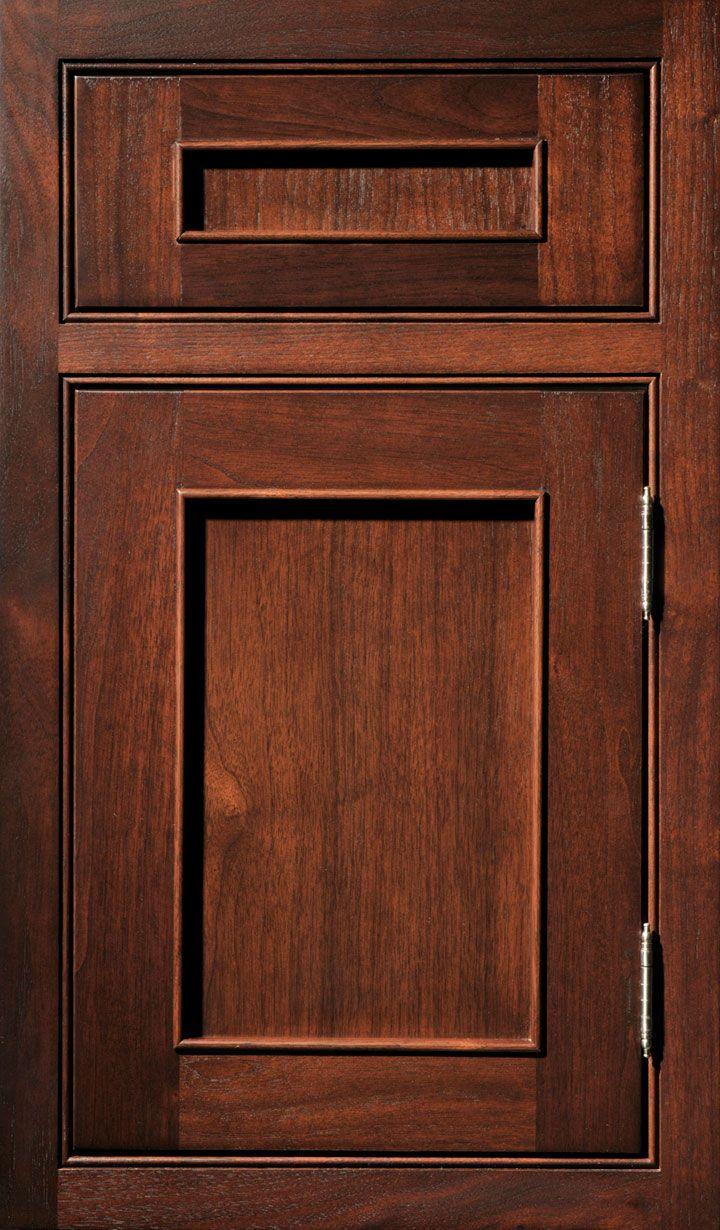 Austere Cabinet Door Designs Custom Cabinetry Walnut Doors