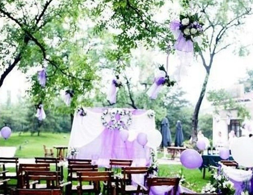 Purple Outdoor Wedding Themes Outdoor Wedding Venues Outdoor